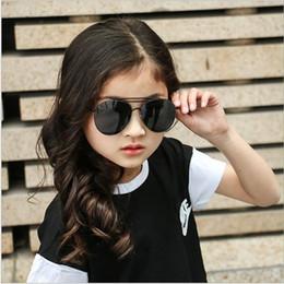 Wholesale Child Boy Model Beach - Parent-child model frame ocean children sunglasses Ms male Korea tears sunglasses fashion decoration