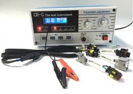 macchina portatile cavo diagnostico Sconti 220 V CR-C multifunzione diesel common rail iniettore tester strumento strumento di test di regolazione dei parametri