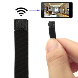Wholesale Wireless Micro Video Cameras - 32GB DIY Module Mini Spy Wifi Camera Module Mini Wireless P2P IP Camera Micro Secret Camcorders DVR Cam Spy Covert Candid Video Camera