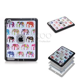 Wholesale Ipad Protector Case For Kids - Shockproof Kids Protector Case For iPad mini 1 2 3 Cover PC TPU Hybrid Robot Protect Screen Protector for ipad 234 OPP BAG