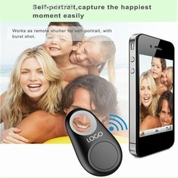 Wholesale Key Finder Remote Control Locator - Bluetooth GPS Tracker Anti-Lost Alarm Tracer Bluetooth Key Finder Locator Remote Control Shutter for all Smartphone with Retail box OM-CH3
