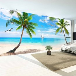 Wholesale 3d Rose Wall - Photo 3D photo wall mural Art Wall living room bedroom wallpaper Home Decor wallpaper for wall Mediterranean style