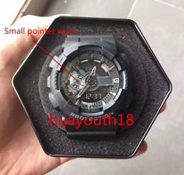 Wholesale Hk Post Free Shipping - 2017 free ship hk-post all arrow work relogio Ga100 box men's sports watches, Luxury men watch wristwatch, military watch, digital watch