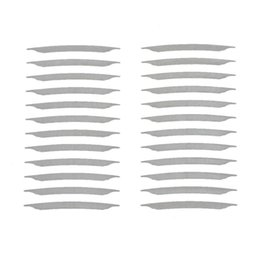 Wholesale Clear Double Eyelid Tape - Wholesale-Paradise 2016 New Brand 12 Pairs Double-sided Invisible Thin Eyelid Clear Adhesive Sticker Tape Free Shipping June10