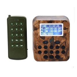 Wholesale Outdoor Range - Long Range MP3 Player Camouflage Color for Outdoor 300-500m Remote Control & 50W Speaker Reach 2km & 210 Bird Songs Included Free Shipping