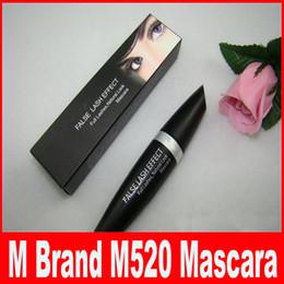 Faux Cils Effet de Cils Mascara Naturel Noir M520 Imperméable Yeux Make Up DHL Livraison Gratuite. ? partir de fabricateur