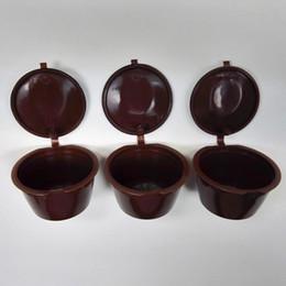 Wholesale Piece Baskets - 3pcs Lot Reusable Dolce Gusto Coffee Capsule,Plastic Refillable Compatible Dolce Gusto Coffee Filter Baskets Capsules