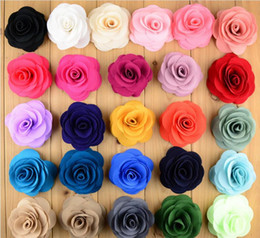Wholesale White Fake Pearls Wholesale - 8CM Pearl Rose Flower Heads Particle Artificial Flowers Rose Plastic Flowers Fake Flowers Head 26 Colors You Can Choose