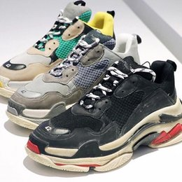 Wholesale Men S Boots For Winter - Retro BL Triple S Fashion Brand Design Sneakers for Men Women Trainers Running Shoes Professional Sneaker Fashion Shoe Outdoor Boots