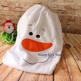 Wholesale Toilet Seat Chair - Wholesale- 2016 New Year Christmas Toilet Seat Cover Decorations Snowman Pattern Indoor Christmas Ornaments Bathroom Chair Decors For Home