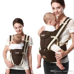 Ergonomischer sitz online-2017 neue ergonomische rucksack babytrage multifunktions atmungsaktive kindertrage rucksäcke wagen kleinkind sling wrap hosenträger + sitz