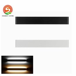 Wholesale Mirror Light Led 7w - New Modern 7W 14W 20W 24W 30W 36W Led Wall Lamps Aluminum Acryl lamp 85V-265V mirror light for bedroom living room stair bathroom