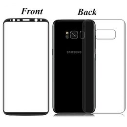 Wholesale Full Body Design - Hot Sale New Design Front+Back Glass 9H 3D Curved Ultra-thin Full Body Cover Screen Protector Tempered Glass For Samsung Galaxy S8 S8 Plus