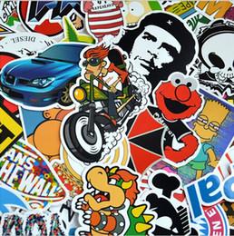 Wholesale Luggage Wholesalers - 4500X Skateboard Sticker Vintage Vinyl Laptop Luggage Decals Dope Sticker Mix