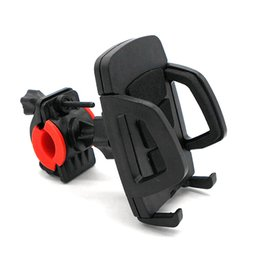 Wholesale Universal Mobile Phone Bike Stand - Universal Bicycle Phone Holder Stand Antiskid Bike Phone Mount Mobile Phone Support For iPhone 7 6S Galaxy S8 Plus GPS Free DHL