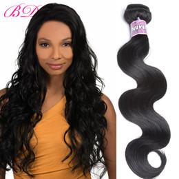 Wholesale Processed Peruvian Hair - BD New 3 Bundles Peruvian Body Wave Human Hair Bundles Within One Free Bundles Human Hair Extensions