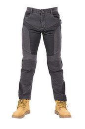 Wholesale D R L - High quality racing clothing motorcycle jeans  riding pants Slim racing pants have protection off-road pants Drop resistance pants r-3