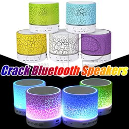 Wholesale Music Player For Mobile - LED Bluetooth Speaker Mini Wireless Speakers A9 USB Music Sound Light Subwoofer Stereo HiFi Player for IOS Android Phone S8 Plus