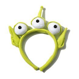 Wholesale Bee Headbands - Alien Headbands cartoon Kids Adult Alien Antenna Headband Eyes Tentacles UFO Bee Hair Hand Ladybird Cosplay Birthday Party Supplies Gift
