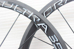 Wholesale 38mm Carbon Clincher Wheels - more color can choise 100% Carbon fiber Bicycle wheelset 38mm clincher carbon wheels tubular 700C Matte finish with powerway R36 carbon hubs