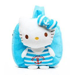 Wholesale Donald Duck Bag - 2016 new fashion donald duck children school bag soft Plush kids school backpack for baby boys girls lovely mochila for 1-3years