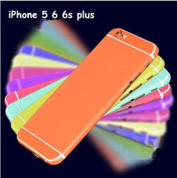 2019 película de color iphone Película protectora de la pantalla de colores para el iPhone 5 6 7 plus película de color iphone baratos