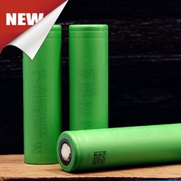 Wholesale Lithium Battery Bank - Genuine 18650 VTC6 High Drain 30A Rechargeable Lithium Ion Battery Good Alternative Battery Supporting Ecig Box Power Bank Mod Fedex Free