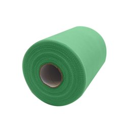Wholesale Tulle Fabric For Tutus - Mint green C-Tulle Roll 6inch*100yard Tulle Roll Spool Fabric Tutu For DIY Skirt Gift home Party Bow Tulle Roll