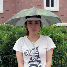 Plegable Headwear Sun Umbrella Camuflaje Pesca al aire libre Senderismo  Playa Camping Cap Sombreros de cabeza Deporte Paraguas Sombrero Lluvia  Portátil ... 0071b51beea