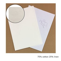Wholesale Wholesale Red Paper - 0.13mm thickness 75% cotton 25% linen paper no starch no acid with red and blue fiber 200 sheets one package
