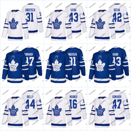 Wholesale Roman Womens - Womens' 2017-2018 Season Toronto Maple Leafs 43 Nazem Kadri 33 Seth Griffith 2 Hunwick 42 Tyler Bozak 46 Roman Polak Hockey Jerseys
