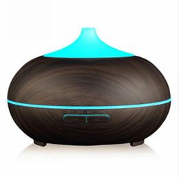 Umidificatore fresco ultrasonico della foschia del grano di legno del diffusore dell'olio essenziale dell'aroma 300ml per il salone della camera da letto della casa dell'ufficio da xiaomi mi box fornitori