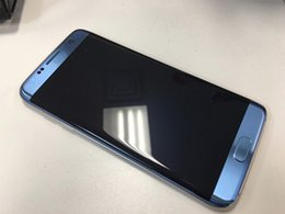 Wholesale Hdc Android Inch 3g - Goophone HDC S7 EDGE Curve Screen Metal Frame 5.5 Inch Quad Core MTK6580 1GB 4GB Android 6.0 Smartphone 3G 1920*1080 DHL