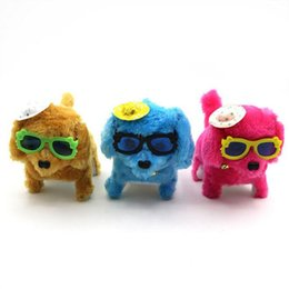Wholesale Battery Operated Dolls - Creative children's dolls, small gifts, pop glasses, back dogs, luminous toys, dogs, summer vendors, hot supplies