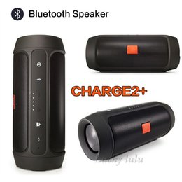 Wholesale Cans Mp3 - Nice Sound CHarge2+ Wireless Bluetooth mini speaker Outdoor Waterproof Bluetooth Speaker Can Be Used As Power Bank For Your Phone