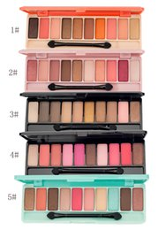 Wholesale Nude Naked - 10 colors Eyeshadow Naked Palette Beauty Pigment Nudes Matte Eye Shadow