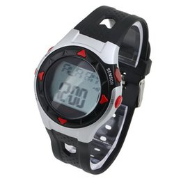 Wholesale Calorie Watches - Wholesale- 1PC Outdoor Cycling Monitor Wrist Watch Calorie Waterproof Pulse Heart Rate Counter Sport Exercise Drop Shipping
