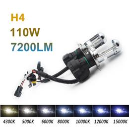 Wholesale Hid 55w Set - 2pcs H13 55W xenon hid light double beam wire set 6000K 8000K 10000K Headlight bulbs lamp