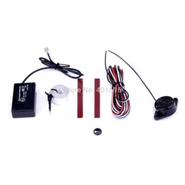 Wholesale Electromagnetic Sensor System Parking - car free shipping Electromagnetic parking sensor no hole no drill Auto Reverse Backup Detector System