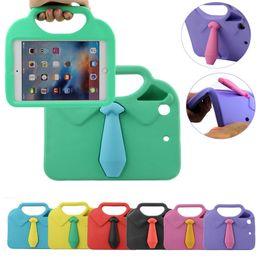 Wholesale Ipad Handheld Case - For iPad mini1.2.3.4Tie clothes Handheld EVA Foam Shockproof Case Cover