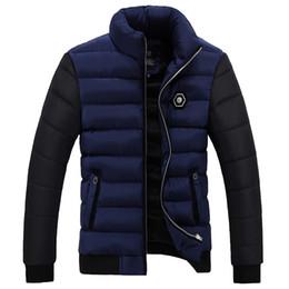 Wholesale Thick Winter Clothes - Wholesale- Men Down Parkas Winter jacket 2016 New arrival MEN'S padded parka coats coat down-jacket parkas men Clothing Casual Coat 70