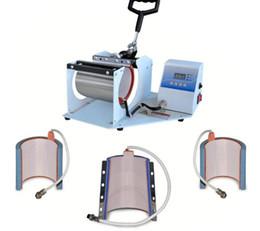 Wholesale Logo Press Machine - SB-04-C Small thermal heat transfer machine multifunctional iron Mark cup LOGO cup baking machine manual heat press machine