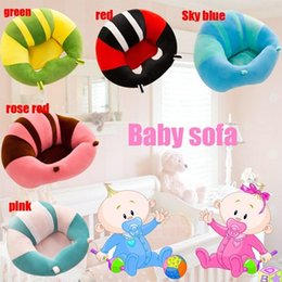 Wholesale Baby Assistant - Fashion Creative Sofa Baby Safety Seat Assistant Baby Learning Plush Toys