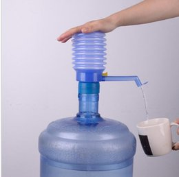 Wholesale Bottle Water Pumps - Portable Hand Press Drinking Water Pump Removable Tube Manual Pump Dispenser Bottled Drinking Water Hand Press Manual Pump KKA1860