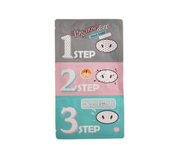 perfect noses Promo Codes - DHL Fast shipping 20pcs Holika Pig Nose Clear Black Head Perfect Sticker 3 steps Clear Black Head Mask Blackhead Remover