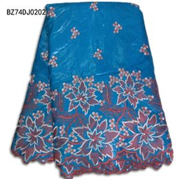 Wholesale Cheap Multi Colored Dresses - Wholesale and retail High quality bazin riche getzner textile fabrics cheap price for winter dresses(5yard lot)