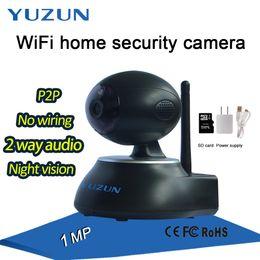 Wholesale Ip Cctv Software - onvif p2p ip security camera software download two way audio baby camera wireless wifi monitor cctv camera black easy installment