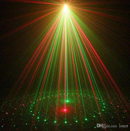 Wholesale Party Outdoors Lights Bar - Free DHL IR Control Red Green 20 Renderings Laser Lights Outdoor Waterproof IP65 laser projectior lamps Bar DJ party stage light