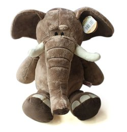 Wholesale Nici Plush Toys - 2017 New Design 28cm Super cute Germany NICI jungle brother doll elephant plush toy for birthday Xmas gifts