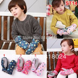 Wholesale Ski Gloves For Kids - Wholesale- Retail High Quality Winter Outdoor Five-Stars Thermal Ski, Kids Gloves Windproof Waterproof Children Mittens for 3-6 Yrs Kids